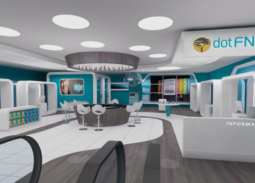 FNB Bank City Concept design - Oracle 3d